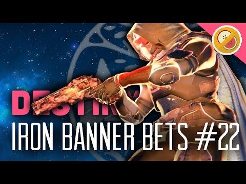 Destiny Iron Banner Bets #22 - The Dream Team (MAYHEM)