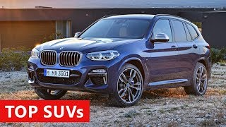 10 Amazing SUVs and Crossovers Coming in 2018