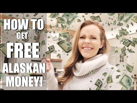 HOW TO GET FREE ALASKAN MONEY  THE ALASKAN PFD  Somers In Alaska