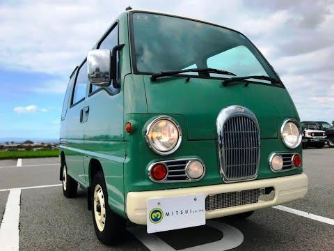 1995 Subaru Sambar Van KV3-157406 Japanese #Mini Truck For Sale  Japan #Kei Truck Used Car Vehicle