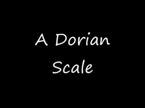 A Dorian Mode/Scale - Groovy Backing Track!