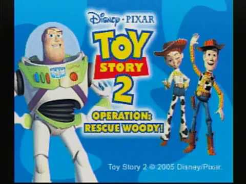 Toy Story 2: Operation: Rescue Woody! V.Smile Playthrough