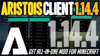 Download lagu How to get Aristois Client for Minecraft 1 14 4 downloadinstall Aristois Client 1 14 4 MP3