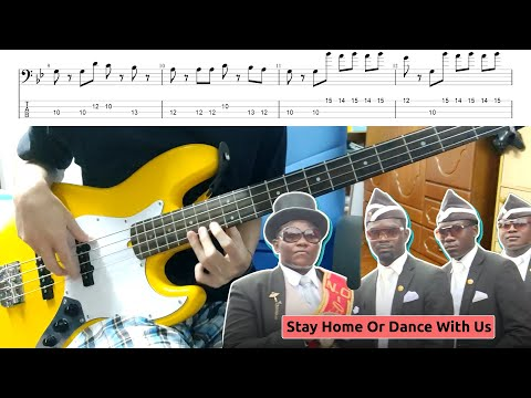 Coffin Dance Play On Bass - With Tab And Backing Track Download