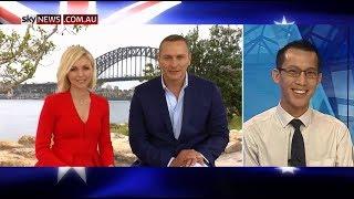Eddie Woo on Australia Day (Sky News)