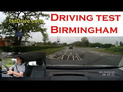 Paul's Driving Test In Birmingham UK - Kings Heath