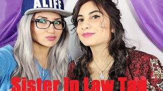 Tag | Sister in law Tag ft. @marium_mb | Fictionally Flawless