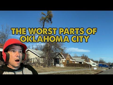 Driving Through The Worst Neighborhoods of Oklahoma City, Oklahoma