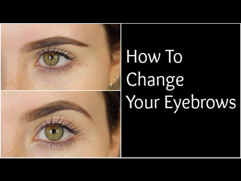 ecdcbe141b7 DIY: How To Change The Shape Of Your Eyebrows | MeMyMouse1 - YouTube
