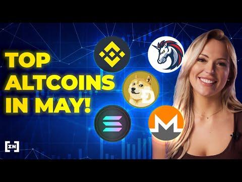Top 5 Altcoins pour mai 2021 🚀 Certains des meilleurs projets de crypto en ce moment!