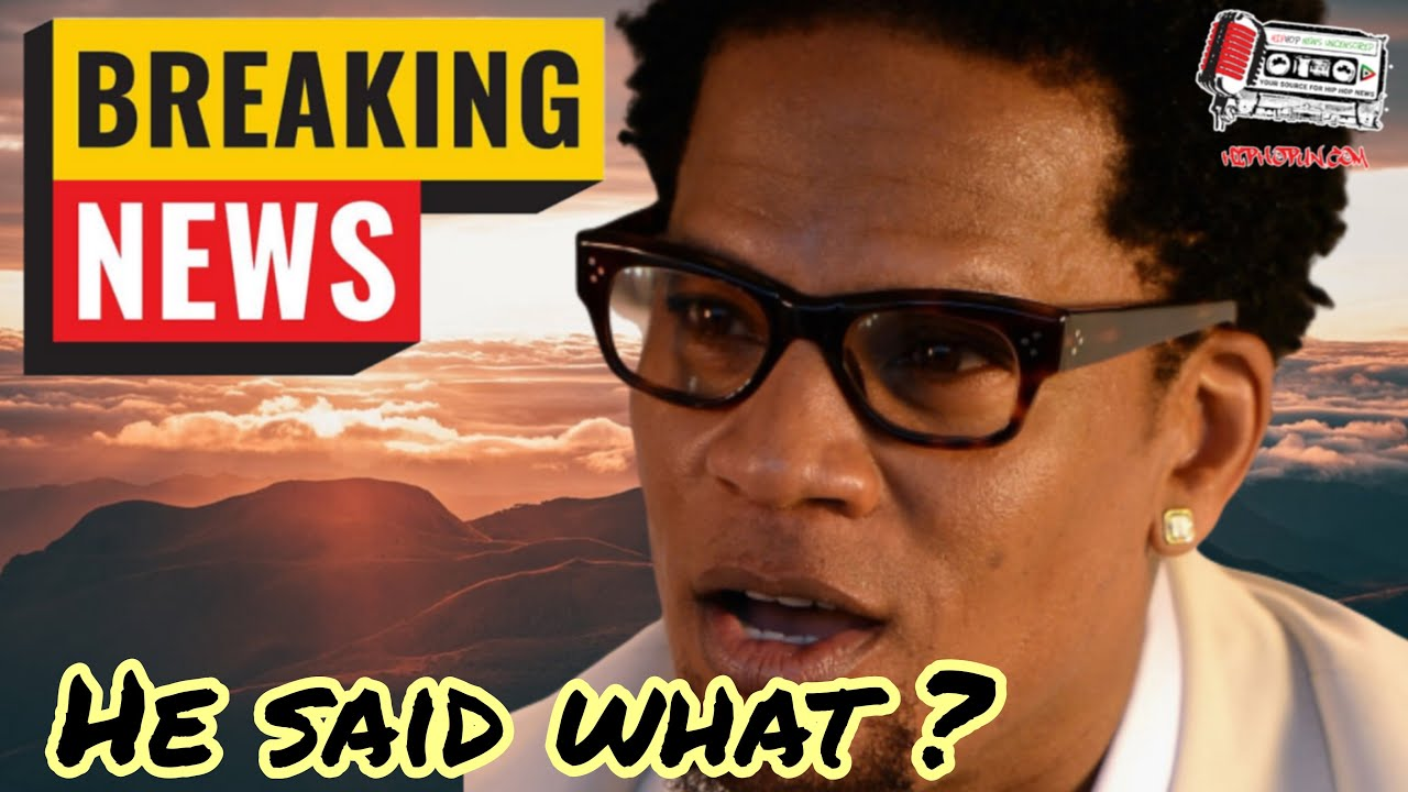 DL Hughley Just Showed His True Colors And Its Worst Than You Think?!?!