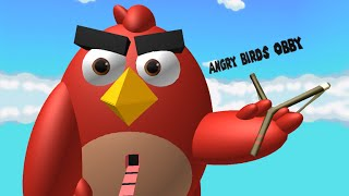 Roblox Angry Birds Obby| Pt4 I Went Into His Stomach!!