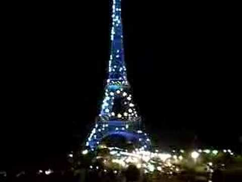 EU Eiffel Tower Lightshow & EU Eiffel Tower Lightshow - YouTube