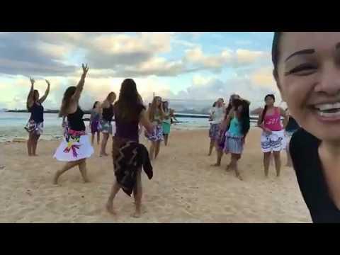 HOT HULA fitness® with Nickie Facebook LIVE - Ewa Beach, Oahu