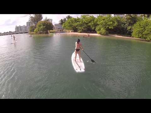 DJI Phantom in Condado Lagoon San Juan