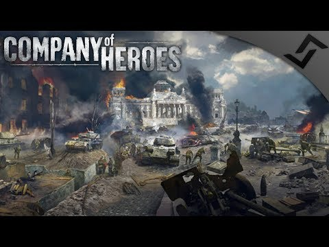 Battle for the Reichstag, Berlin '45 - Company of Heroes: Eastern Front - Soviets vs Germans