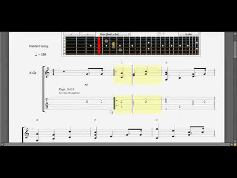 [Guitar TAB] Happy birthday