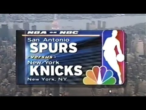1999 NBA on NBC - Spurs vs Knicks - Finals Game 3 Intro