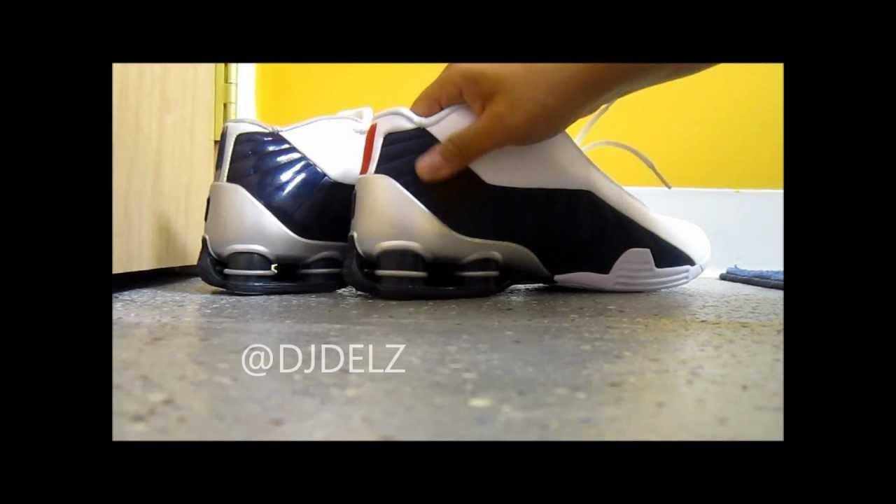 ba1fee99ce596a Nike Vince Carter BB4 Shok Original vs Retro Sneaker With  DjDelz ...