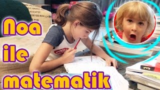 Study Math With Noa Around Challenge | Our Family