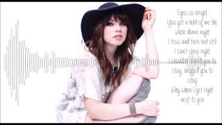 Carly Rae Jepsen Gimmie Love Lyrics