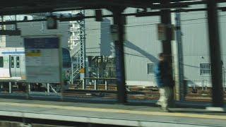 上野東京ライン普通古河行きE231系1592EU526宮ヤマ8号車モハE231-1041両のJR戸塚駅〜横浜駅間の走行音とドア上の表示、相鉄線「7代目そうにゃんトレイン」11000系!一部左側面展望!