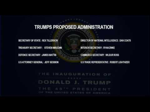 Donald Trump's proposed administration