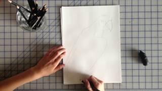 How To Draw A Scarlet Macaw Bird
