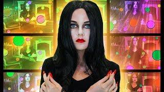 Morticia Face Paint | FunPop!
