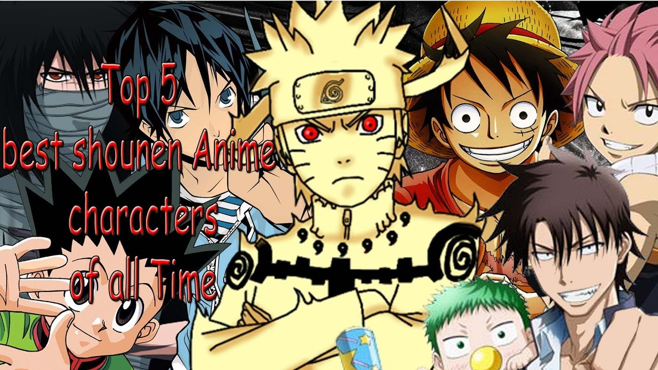 Top 5 shounen anime characters of all time