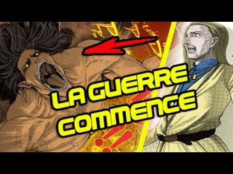 EREN CONTRE BILLY TEIBER ?  REVIEW L'ATTAQUE DES TITANS   CHAPITRE 100