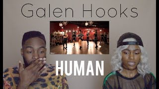 GALEN HOOKS - HUMAN - SEVDALIZA |CHOREOGRAPHY REACTION|
