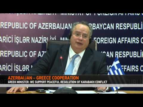 Minister of Foreign Affairs of Greece, Nikos Kotzias has visited Azerbaijan