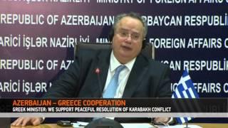 Minister of Foreign Affairs of Greece, Nikos Kotzias has visited Azerbaijan