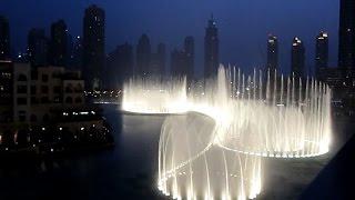 Dubai Water Fountain Show | Dubai Mall Burj Khalifa | Places To Visit In Dubai, UAE, Tourism Dubai