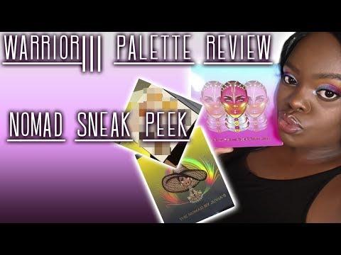 JUVIA'S PLACE WARRIOR III PALETTE REVIEW | PLUS SNEAK PEEK OF THE NOMAD PALETTE thumbnail