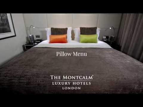 The Montcalm Pillow Menu | M by Montcalm