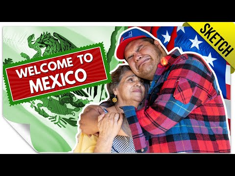 Latino Regresando de los Estados Unidos 🇺🇸 | SKETCH
