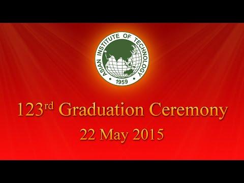 123rd AIT Graduation Ceremony