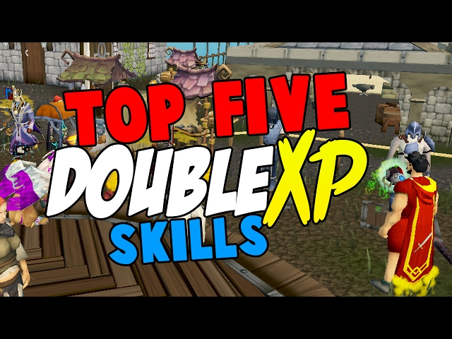 RuneScape Guide Top 5 Skills To Train In Double XP Weekend