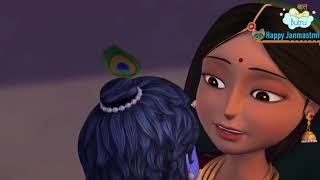 Yashoda Ka Nanadlala Animated ver- यशोदा का नंदलाला .Sanjog 1986 - Children's popular Hindi Rhymes