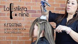 APLICACIÓN KERATINA PASO A PASO - LA ESTILISTA ONLINE thumbnail