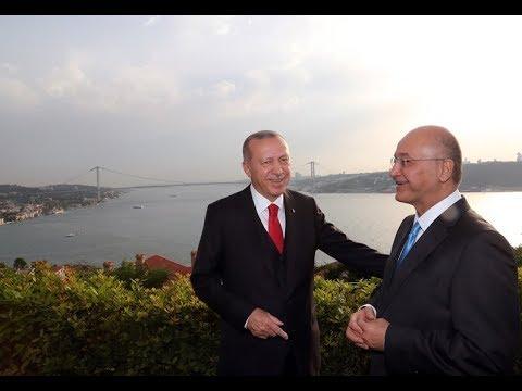Tayyab Erdogan ki Iraqi sadar Berham Salih k sath Istanbul me mulakat - 29-05-19