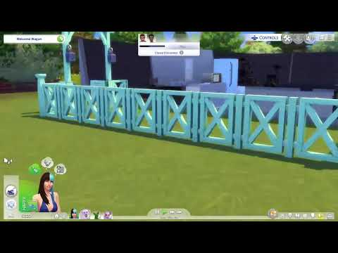Sims 4 cats and dogs swimming with foxy