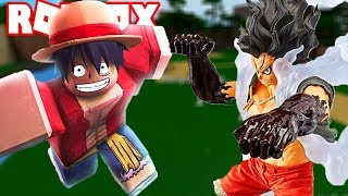Roblox | Luffy's death duel the Prince Luffy Gear 4 Snake Man who will win | Anime Battle Arena