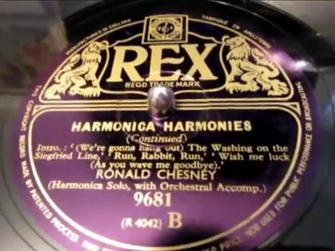 Ronald Chesney - Harmonica Harmonies - 2 of 2 - 78 rpm