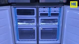 Tủ lạnh Sharp 4 cánh FX631V- SL