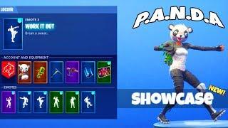 ¡Nuevo! ¡EMOTES DE DANCE! ¡Con PANDA y SUSHI MASTER Skin! (presentado) Fortnite Battle Royale