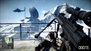(PC) Battlefield: Bad Company 2 SP Gameplay: Mission 05 (Crack the Sky)