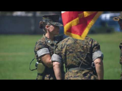 I Marine Expeditionary Force Information Groups Redesignation Ceremony 20170706 (1:00)